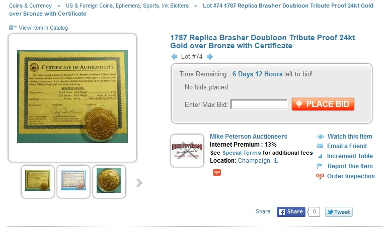 Star Coin and Currency | Proxiblog's Top Online Coin Auctions